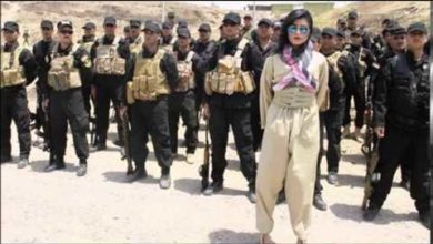 Photo of Anti-ISIS Video By Kurdish Pop-Star Helly Luv