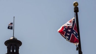 Photo of Flag Flying Controversy in South Carolina