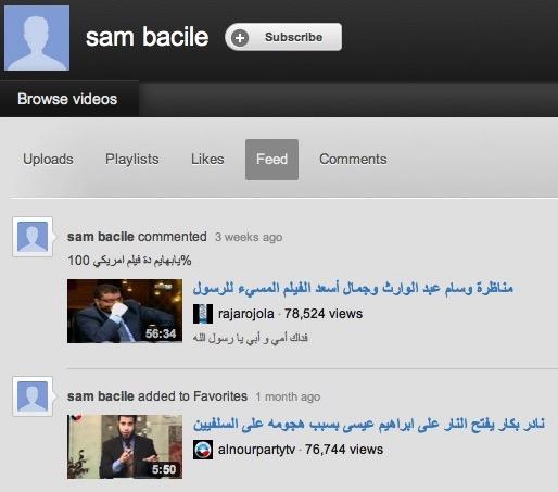 """""""Sam Bacile"""" image."""