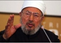 Sheikh Yusef al-Qaradawi, spiritual leader of the Muslim Brotherhood