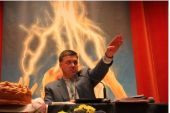 Oleg Tyagnibok, leader of Ukraine's Neo Nazi Svoboda Party