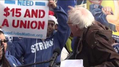 Photo of Bernie Sanders is WRONG: Minimum Wage = Minimum Cents