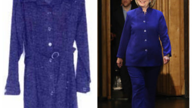 "Photo of Are Hillary's E-Mails Her ""Blue Dress""? (Or Perhaps Blue Pantsuit?)"