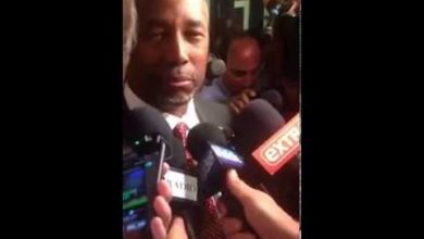 """Photo of Ben Carson After CNN Debate: """"You had to be a buttinsky…"""""""