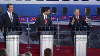 Photo of Low Polling GOP Candidates Duke it Out in Smaller CNN Debate