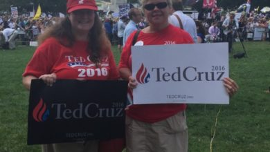 Photo of Cruz and Trump Headline DC Rally Against Iran Deal