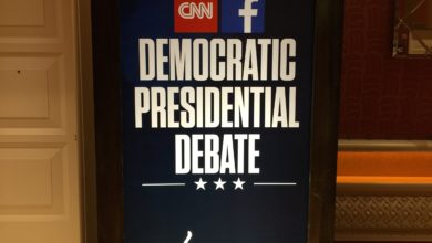 Photo of Morgan Brittany:  Observations From Behind Enemy Lines (at the Democrat Debate)