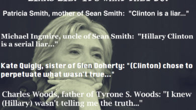 Photo of Is Hillary Clinton a Compulsive Liar or a Sociopath? (There's Not Much Difference…)