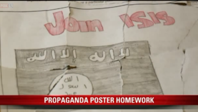 """Photo of Nominee for """"Dumbest Assignment of the Year"""" Pt. 1:  ISIS Propaganda Posters"""