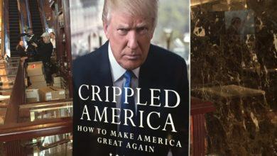 Photo of Donald Trump Debuts New Book 'Crippled America'