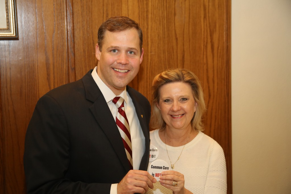 Congressman Jim Bridenstine and Julia Seay