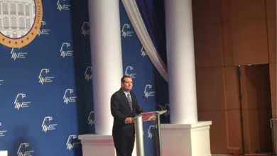 """Photo of Ted Cruz at RJC Forum: """"Our Enemies Are at War With Us"""""""
