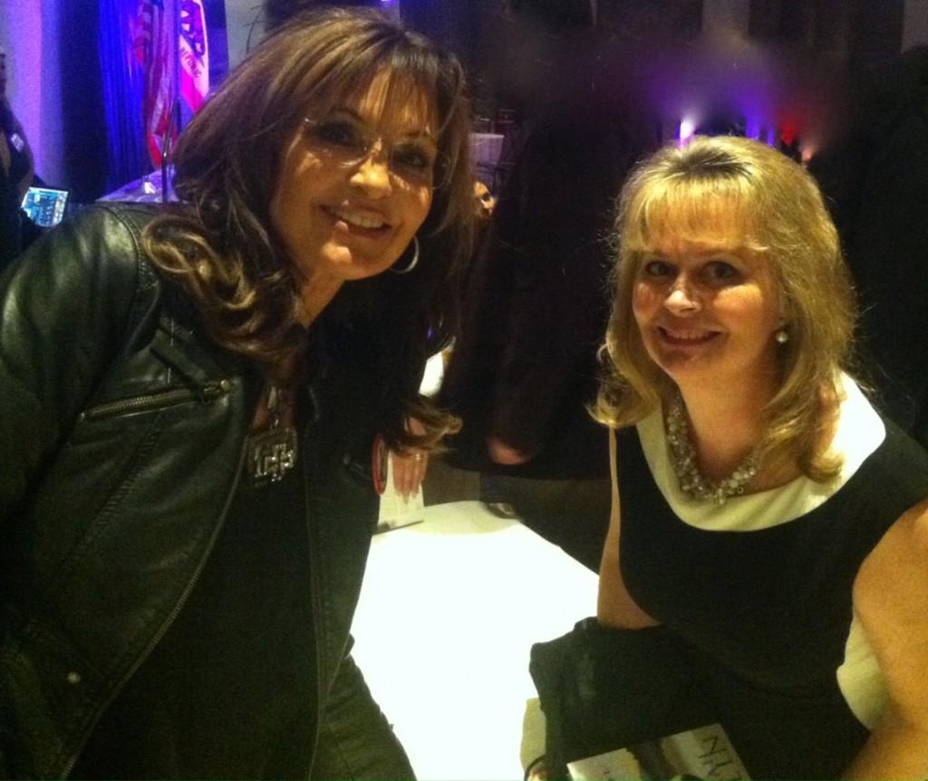 Gov. Sarah Palin and Susan Swift Arnoll