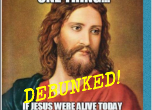 Photo of A Leftist Christmas Meme: DEBUNKED!