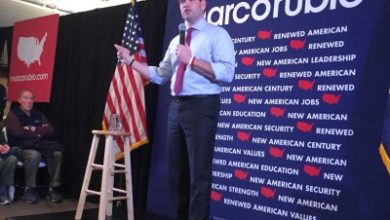 "Photo of Marco Rubio in New Hampshire: ""Frustration isn't enough to elect any Republican"""