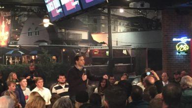 Photo of Rubio in Iowa Slams Trump-Cruz 'Sideshow'