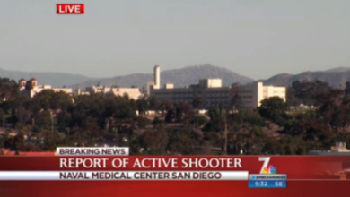 Photo of Possible 'Active Shooter' Reported at Naval Medical Center in San Diego