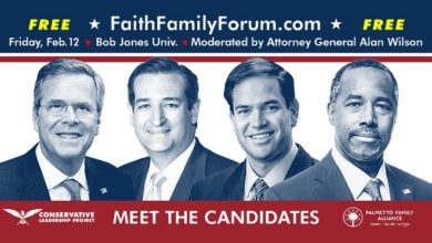 Photo of On Eve of SC Debate, Four GOP Hopefuls Court Evangelical Voters in Faith and Family Forum