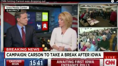 Photo of CNN, Not Cruz Team, Announced Carson 'Taking Break' Before Iowa Caucus