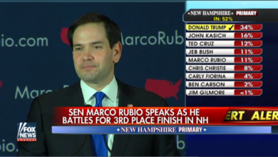 "Photo of Marco Rubio: ""I did not do well on Saturday night"""