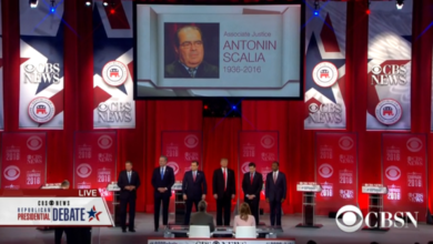 Photo of GOP Hopefuls React to Justice Scalia's Death at SC #GOPDebate
