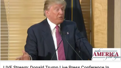 """Photo of BREAKING Trump Press Conference:  """"The Republicans have been very disappointing"""""""