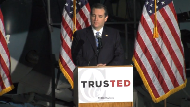"""Photo of Ted Cruz's Military Plan: """"More Tooth, Less Tail"""""""