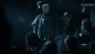 """Photo of Trump 'Game of Thrones' Parody:  """"Winter is Trumping"""""""