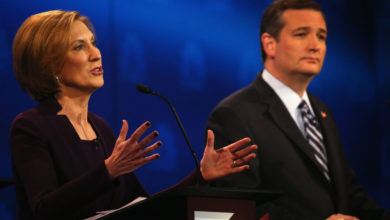 Photo of Carly Fiorina Endorses Ted Cruz