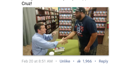 Photo of So Ted Cruz is Dangerous? How Shaking Cruz's Hand Caused a Fervor