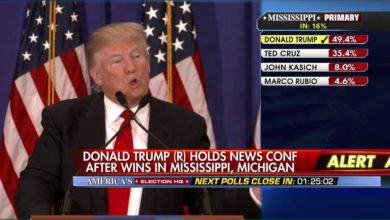 Photo of Donald Trump wins Michigan and Mississippi Primaries