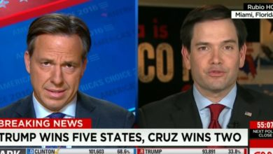 """Photo of Jake Tapper to Marco Rubio: """"Are You in Denial?"""""""