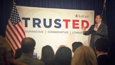 Photo of Ted Cruz Holds Rally in NYC