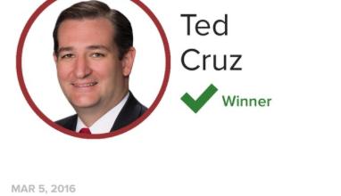 Photo of Ted Cruz Wins Maine GOP Caucus