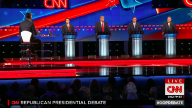 Photo of Final Four Republicans Clashed with Civility at CNN GOP Debate