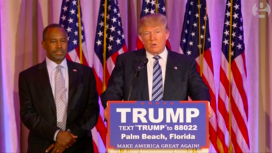 Photo of Ben Carson Endorses Donald Trump for President