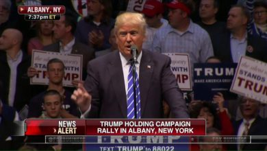"""Photo of Donald Trump in Albany Rally Blast Colorado GOP for """"Crooked and Corrupt System"""""""