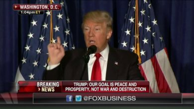 Photo of Donald Trump Outlines 'America First' Foreign Policy in Washington, DC