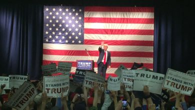 Photo of Donald Trump Holds Rally in Poughkeepsie With NY Primary Just Two Days Away