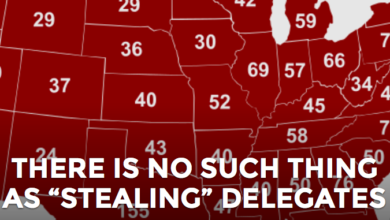 "Photo of There's No Such Thing As ""Stealing"" Delegates"