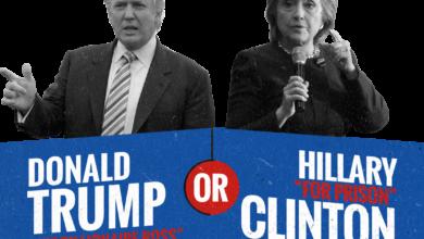 Photo of Rasmussen Report:  Trump 41%, Clinton 39%