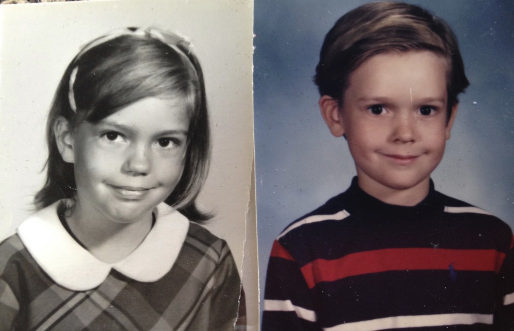 My son & me, both 3rd grade