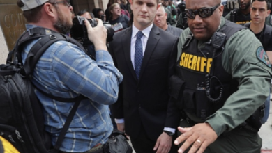 Photo of State's Atty. Marilyn Mosby Absent While Officer Nero Found Not Guilty in Freddie Gray Trial