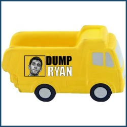 "Photo of Nehlen's  ""Dump Paul Ryan"" dump truck used with permission."