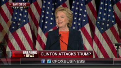 Photo of Hillary Clinton Bashes Donald Trump in National Security Speech