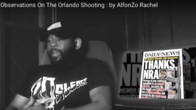Photo of AlfonZo Rachel:  Observations on the Orlando Shooter (aka Islamic Terrorists)