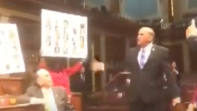 "Photo of Rep. Louie Gohmert Goes Ballistic On Protesting Hippie Democrats: ""Radical Islam Killed Those People!"""