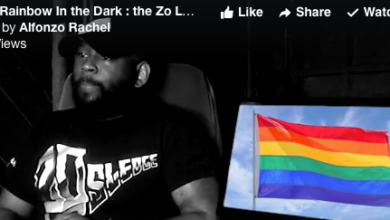 Photo of AlfonZo Rachel:  Like a Rainbow in the Dark