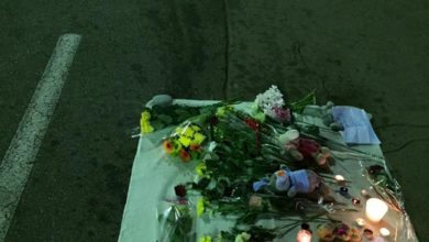 Photo of Exclusive:  Photos of Street Memorial in Nice, France