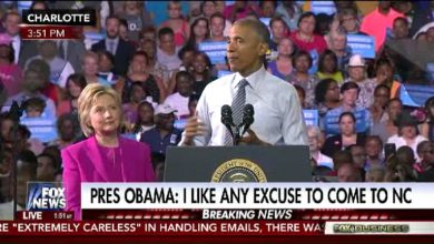 Photo of Following FBI's Decision, President Obama Campaigns With Hillary Clinton